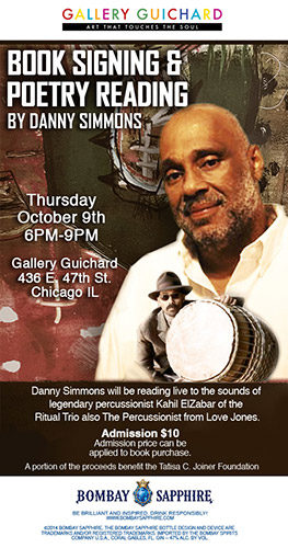 Book Signing and Poetry Reading by Danny Simmons