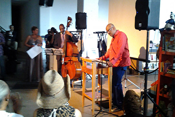 Book Launch: The Brown Beatnik Tomes by Danny Simmons, with jazz bassist Ron Carter