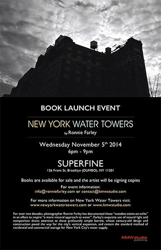 New York Water Towers Book Launch Event