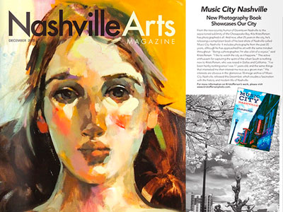 Music City – Nashville in Nashville Art magazine