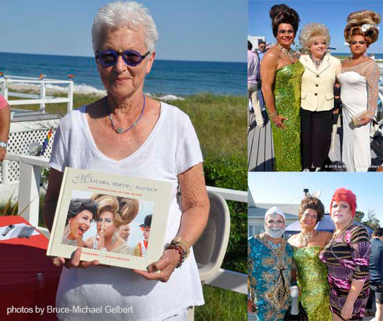 "Fire Island Q News: Susan Kravitz Celebrates Publication of ""Mascara, Mirth & Mayhem,"" 30 Years of Photos of ""Independence Day on Fire Island"""
