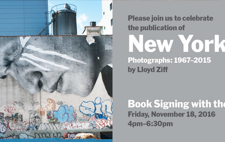 MoMA New York book signing with Lloyd Ziff
